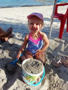 Beach holidays with a baby and pre-schooler
