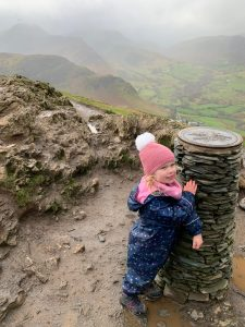 Walking Catbells with children