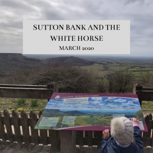 Sutton Bank and the White Horse