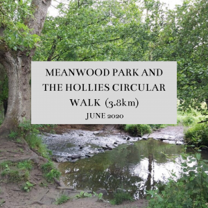 Meanwood Park and the Hollies Circular Walk (3.5km)