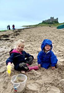 A holiday in Northumberland with children