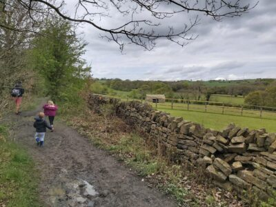 Skelmanthorpe to Shelley Walk (as part of a trip on the Kirklees Light Railway)